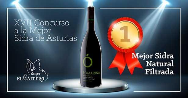 Premio a la mejor sidra de Asturias