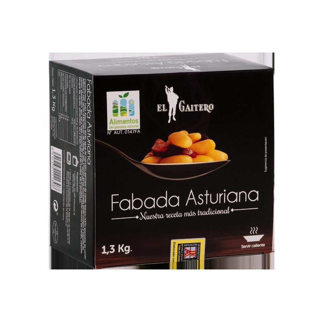 Fabada asturiana gourmet