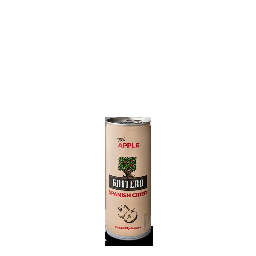 Spanish Cider 100% apple (lata)